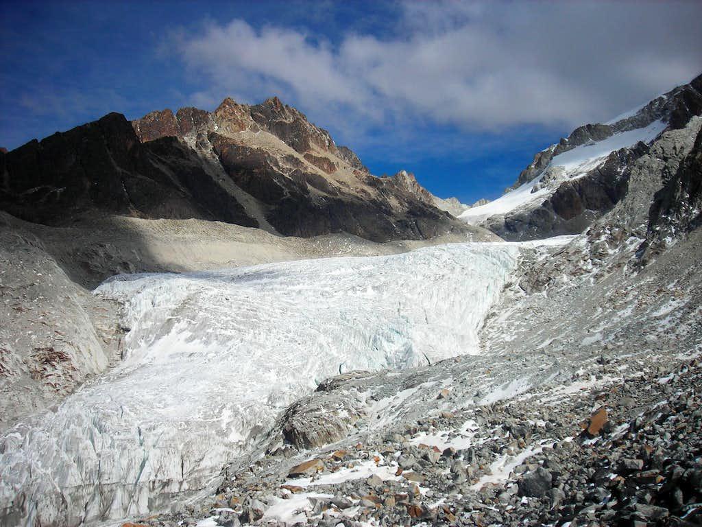 Huayna glacier