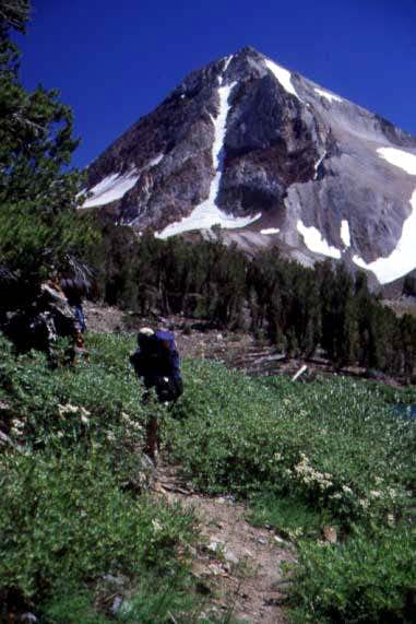 On approach to Red Slate Mt.,...