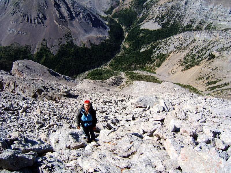Mount Frazier South Ridge