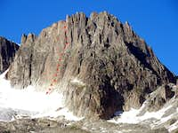 Gross Bielenhorn - SW wall