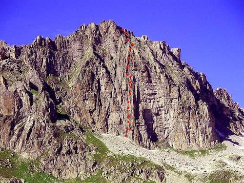 Chli Bielenhorn - S wall