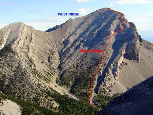 Mount Frazier South Ridge