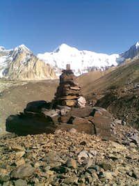 A view of Langutai Barfi (7017m) Hindukush