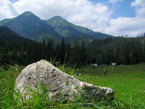Two biggest summits in Belianske Tatras