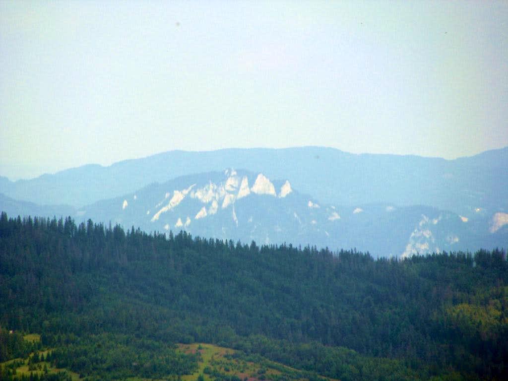 View to Trzy Korony