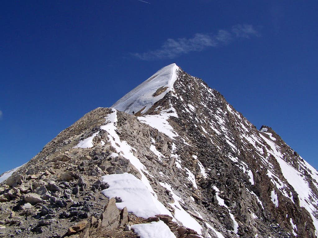 The peak of Hochfeiler from SW