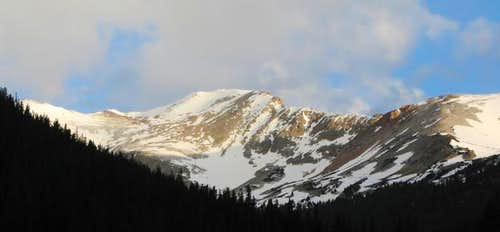 Pettingell Peak and its...