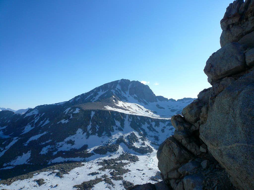 Center Peak from Forrester Pass