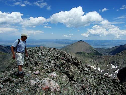 On Kit Carson Peak