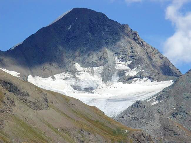 la Tersiva (3515 m.) versante...