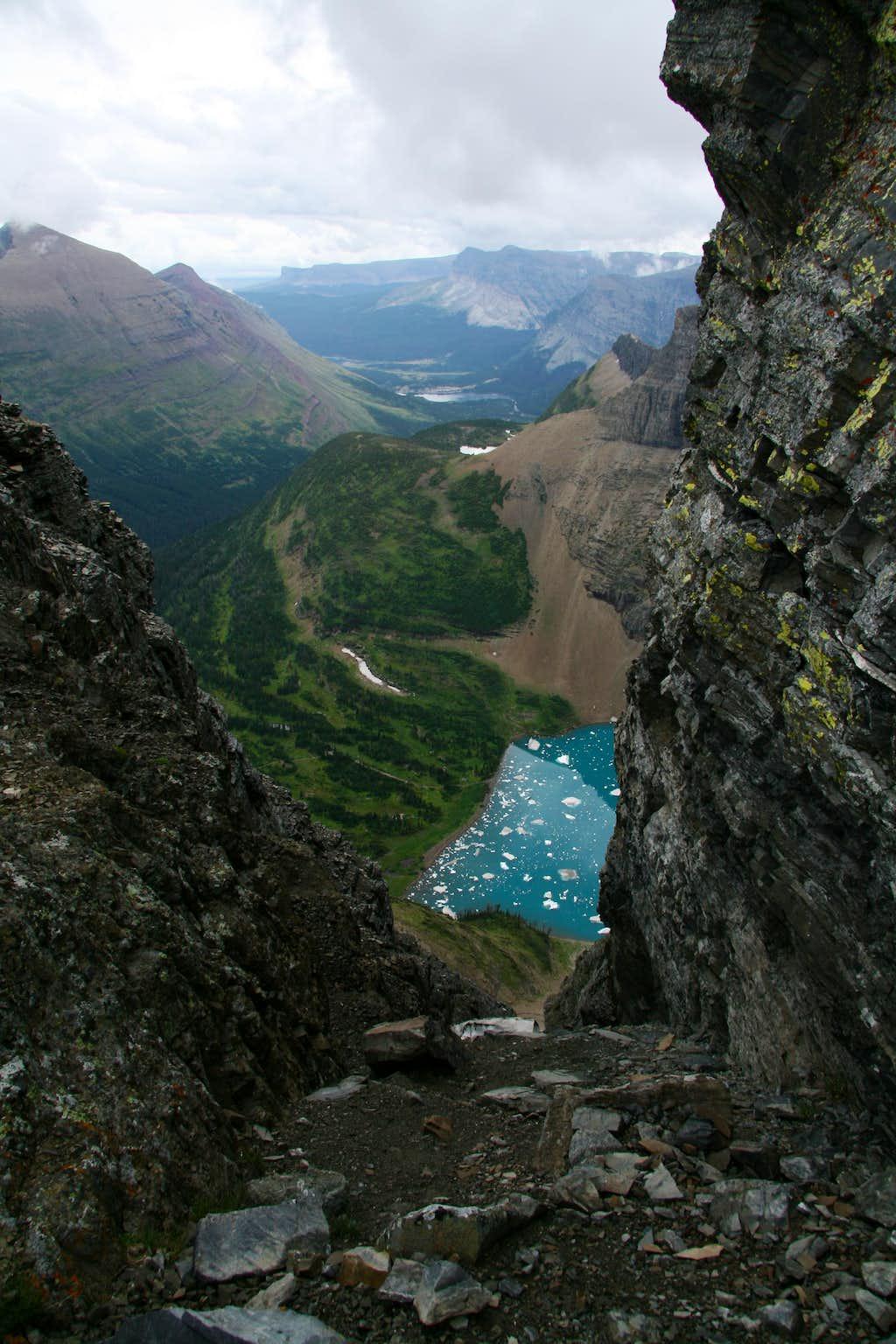 Down Iceberg Notch