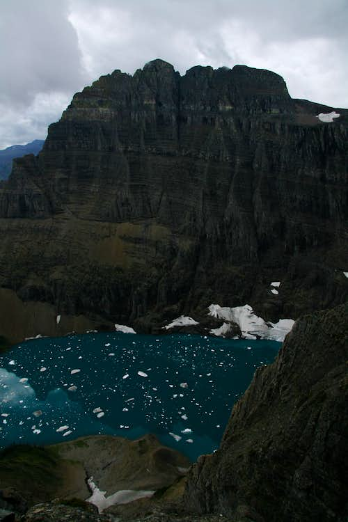 Mount Wilbur and Iceberg Lake