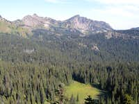Marcus Peak and The Palisades