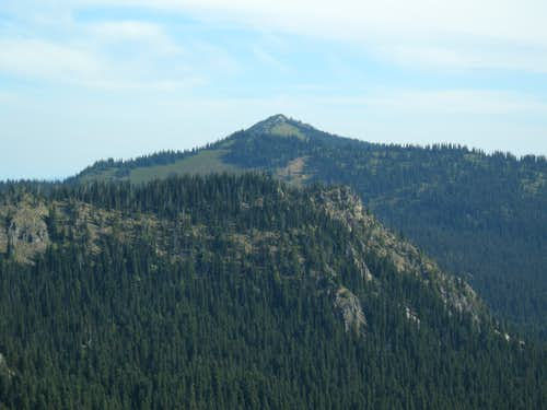 Brown Peak from near Sunrise Point