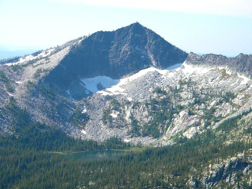 The North Face of Grave Peak