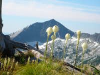 Grave Peak and Bear Grass