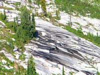 Subalpine Larch and Wet Granite