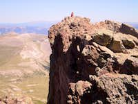 Uncompahgre s Freakish Summit Exposure