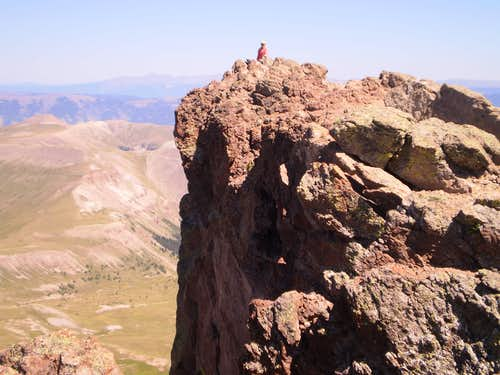 Uncompahgre\'s Freakish Summit Exposure
