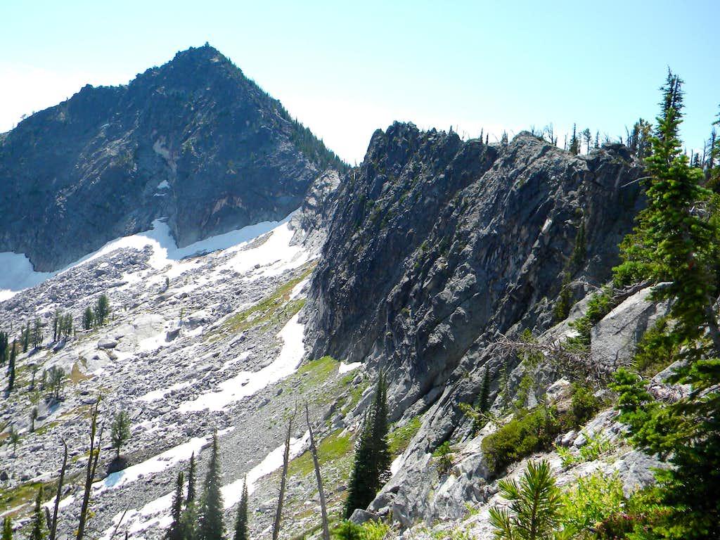 Grave Peak and the Difficult North Ridge