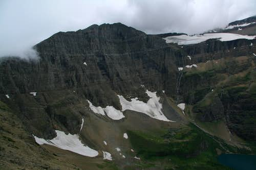 Ahern Peak and Ahern Glacier