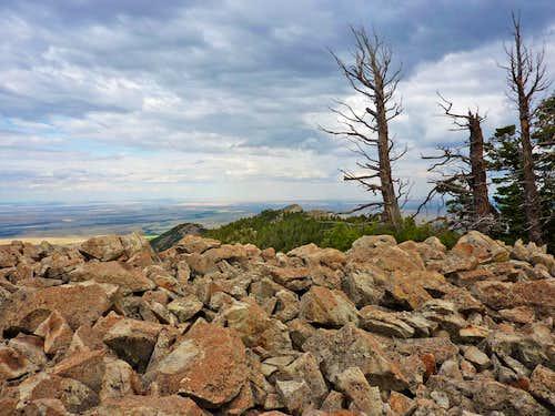 Storm Along Tooth Ridge