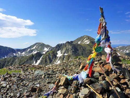 Summit of Kachina Peak