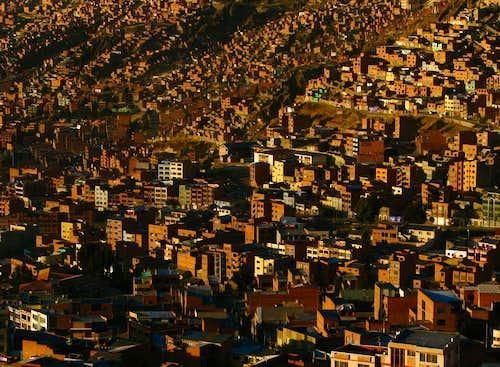 Sunrise, Laz Paz, Bolivia