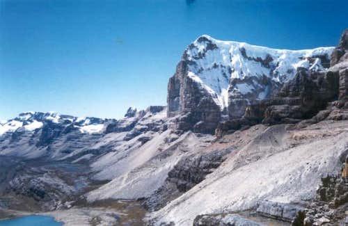 Ritacuba blanco peak