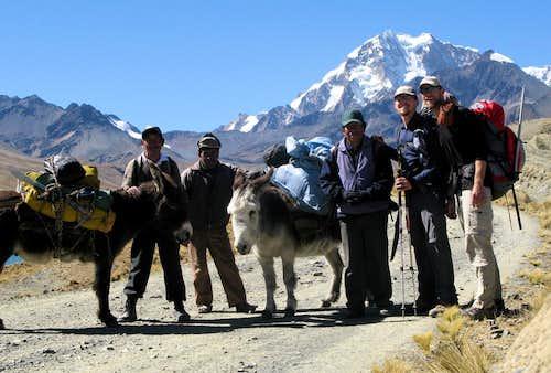 Cordillera Real Climbing, Bolivia