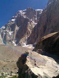 Saraghrar Rock Face ((7300m) Unclimbed