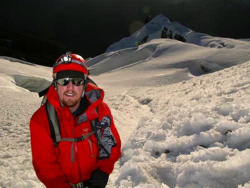 Post Huayna Potosí Summit, Bolivia