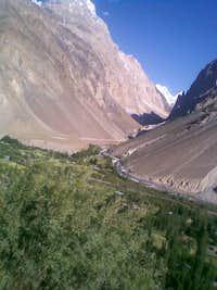 Terich valley-entrance of Rosh Gol