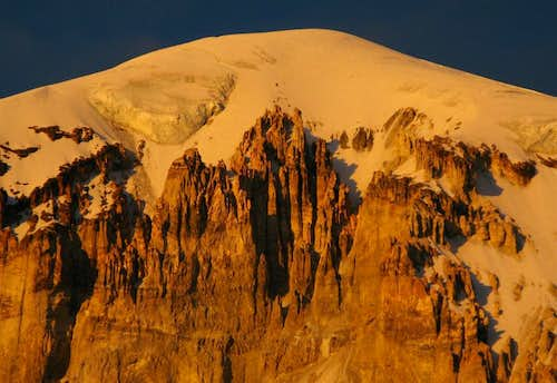 Nevado Sajama Sunset, Bolivia High Point