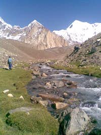 View of Langutai Barfi from Saraghrar- BC
