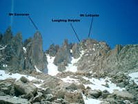LeConte-Corcoran Traverse via East Couloir