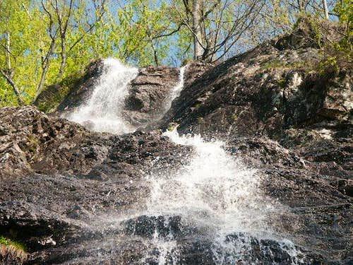 Ballon d'Alsace - Waterfall...