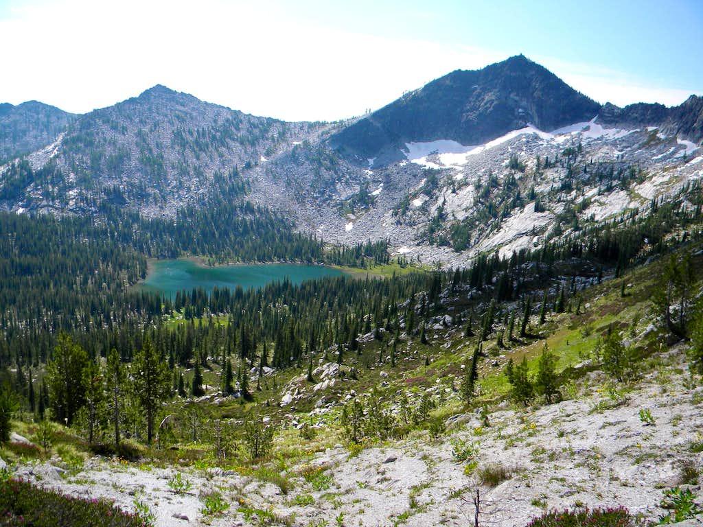 Colt Lake and Grave Peak