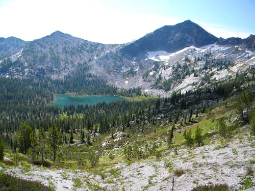Colt Lake and Grave Peak