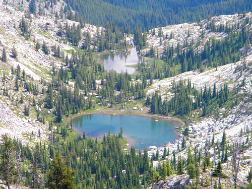 Unnamed Lakes, Southeast Basin