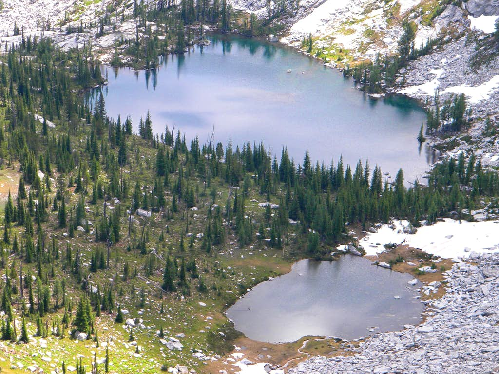 More Unnamed Lakes, Southwest Basin