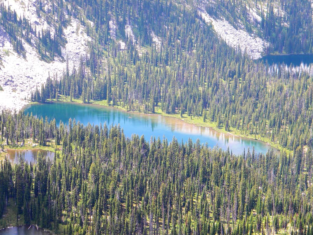 Second Largest Wind Lakes Lake