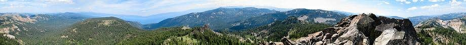 Twin Peaks Summit Panorama