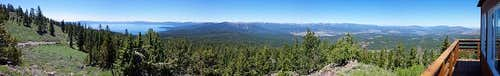 Martis Peak Panorama