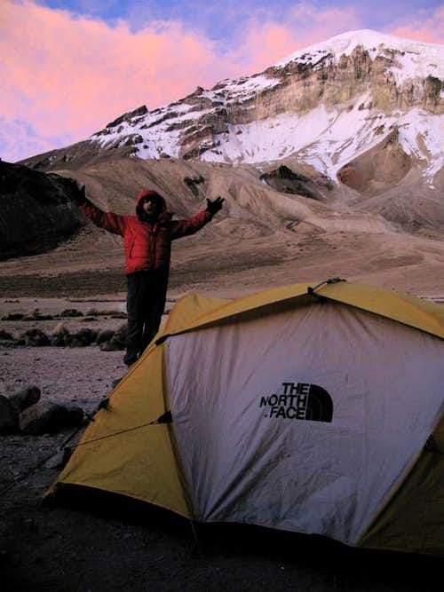 Nevado Sajama Base Camp, Bolivia High Point