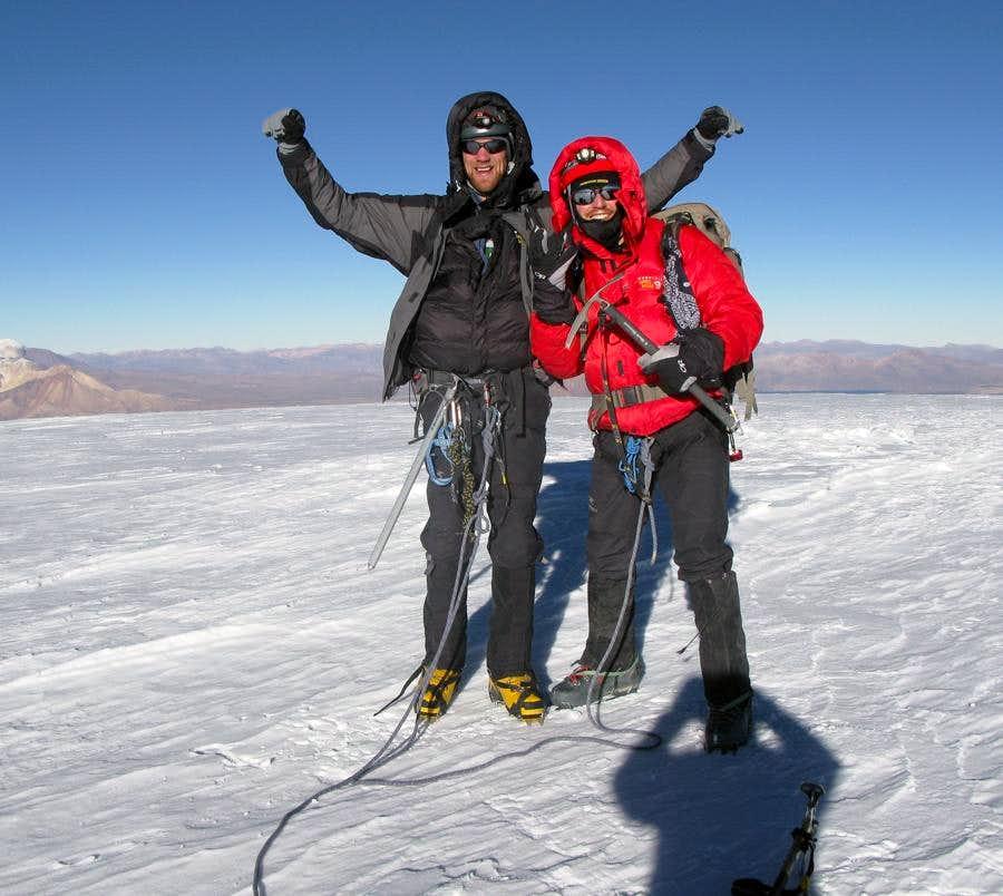Nevado Sajama Summit, Bolivia