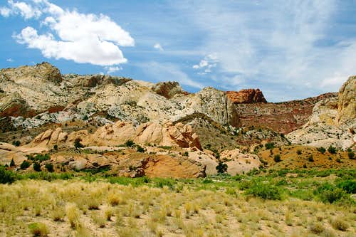 Waterpocket Fold, Capitol Reef