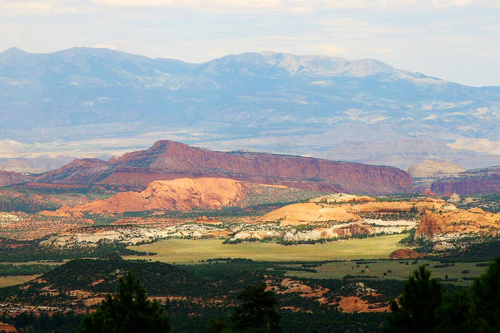 Capitol Reef and the Henry Mountains