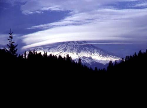 A view of Mt. Shasta from...