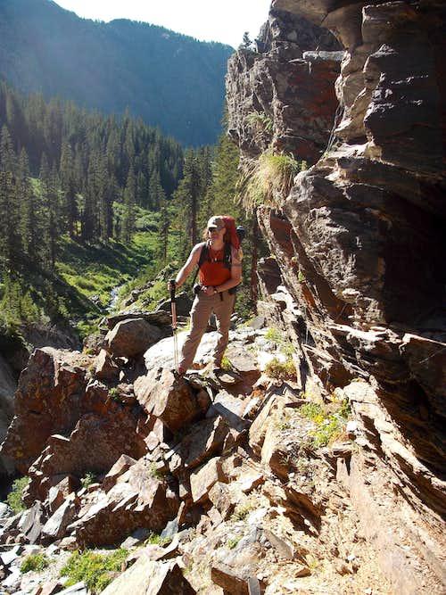 Vestal Creek Gorge